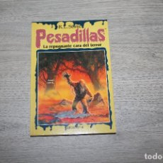Libros antiguos: NOVELA, PESADILLAS Nº 14, LA REPUGNANTE CARA DEL TERROR, EDICIONES B. Lote 190535956