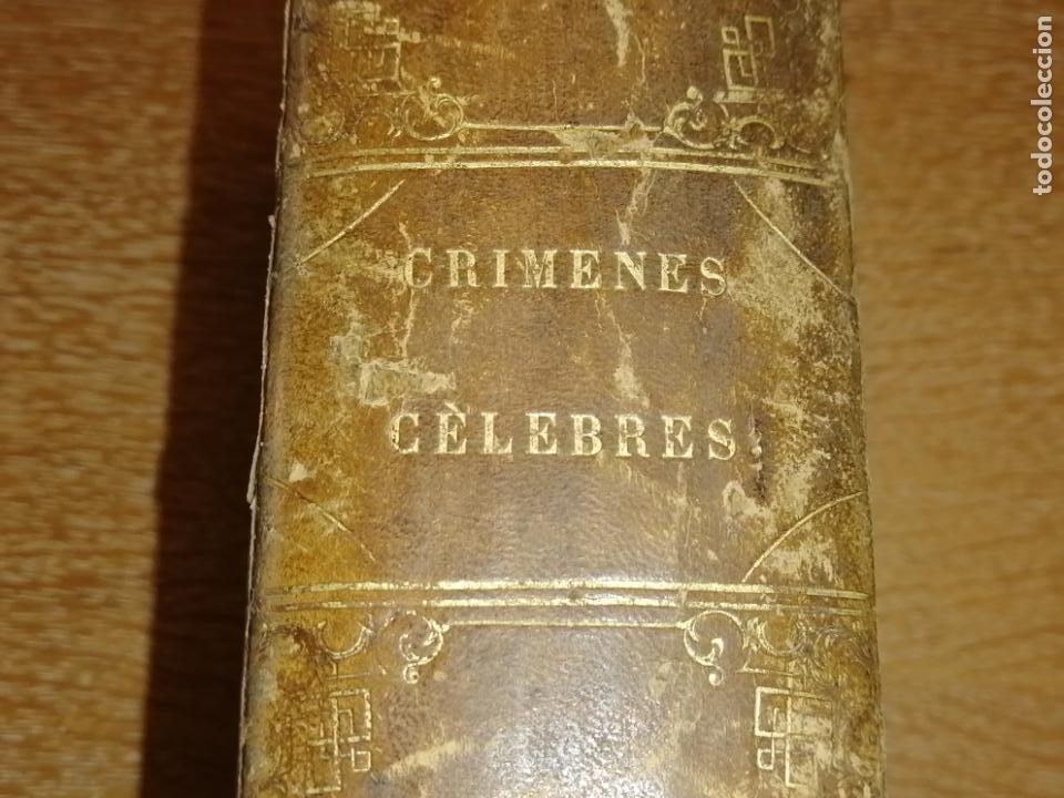 CRÍMENES CÉLEBRES. ALEJANDRO DUMAS (PADRE) (Libros antiguos (hasta 1936), raros y curiosos - Literatura - Terror, Misterio y Policíaco)