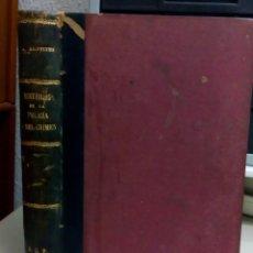 Libros antiguos: MISTERIOS DE LA POLICIA Y DEL CRIMEN, ARTURO GRIFFITHS, AÑO 1902, L112022. Lote 190854575