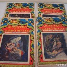Libros antiguos: LOS MISTERIOS DE LAS ALCOBAS REALES. Lote 190911968