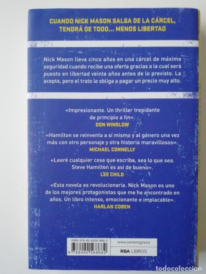 Libros antiguos: LA SEGUNDA VIDA DE NICK MASON - STEVE HAMILTON - ED RBA 2018 - Foto 2 - 191310561