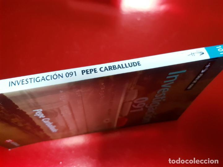 Libros antiguos: LIBRO-INVESTIGACIÓN 091-PEPE CARBALLUDE-1ªEDICIÓN-2007-EXCELENTE EXTADO - Foto 2 - 191319192