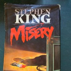 Libros antiguos: STEPHEN KING - MISERY - BARCELONA 1988. Lote 191769293