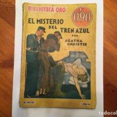Libros antiguos: NOVELA POLICIACA,BIBLIOTECA ORO, AÑO 1935 DE AGATHA CHISTIE Nº 28 VIEJA 1ª EDICION. Lote 194071731
