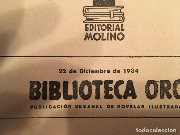 Libros antiguos: novela policiaca, biblioteca oro,año 1934 por agatha chirstie nº 23 -- 1ª edicion - Foto 3 - 194072375