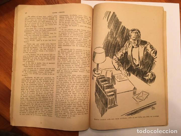 Libros antiguos: novela policiaca, biblioteca oro,año 1934 por agatha chirstie nº 23 -- 1ª edicion - Foto 7 - 194072375
