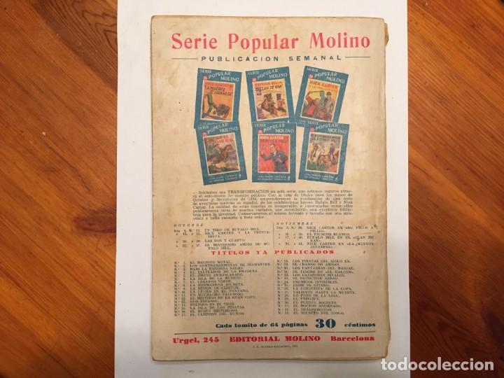 Libros antiguos: novela policiaca, biblioteca oro,año 1934 por agatha chirstie nº 23 -- 1ª edicion - Foto 8 - 194072375
