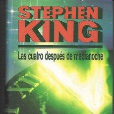 Libros antiguos: LIBRO STEPHEN KING LAS CUATRO DESPUÉS DE MEDIANOCHE. Lote 194269313