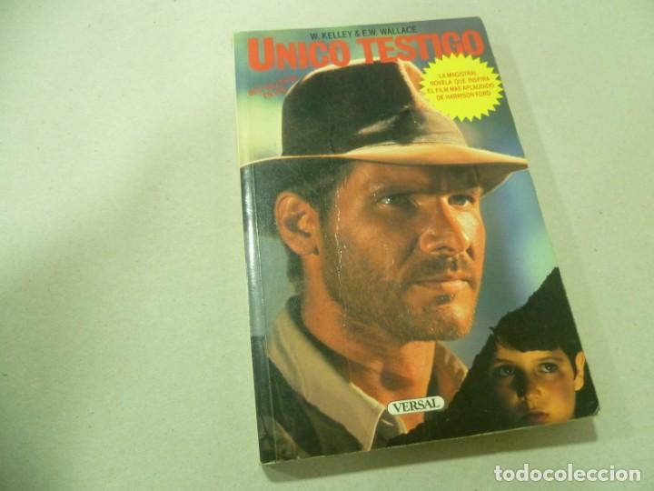 LIBRO ÚNICO TESTIGO (Libros antiguos (hasta 1936), raros y curiosos - Literatura - Terror, Misterio y Policíaco)