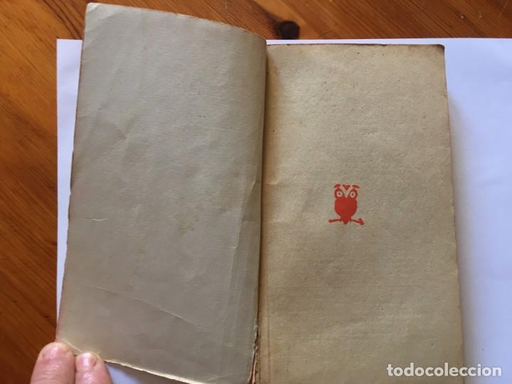 Libros antiguos: novela policiaca coleccion el buho,nº 95 el as de pique,por henry holt - Foto 3 - 194488981