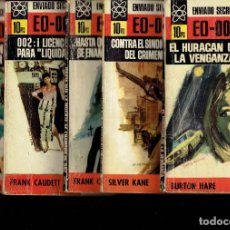 Libros antiguos: 10 NOVELAS DE LA 1 EDICION ENVIADO SECRETO EDITORIAL BURGUERA. Lote 194587017