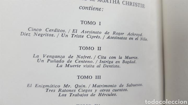 Libros antiguos: AGATHA CHRISTIE: OBRAS ESCOGIDAS, tomos 1, 2 y 3 Lince astuto y Obras tomo I de Aguilar. - Foto 2 - 194610601