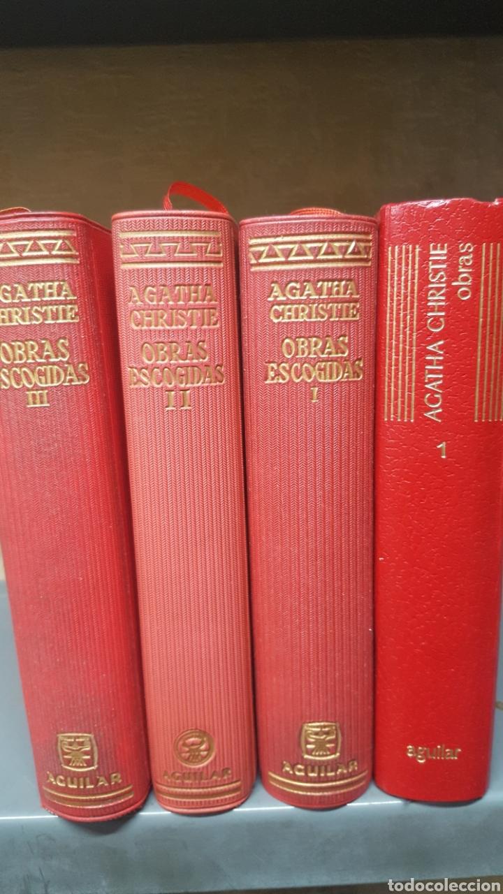 AGATHA CHRISTIE: OBRAS ESCOGIDAS, TOMOS 1, 2 Y 3 LINCE ASTUTO Y OBRAS TOMO I DE AGUILAR. (Libros antiguos (hasta 1936), raros y curiosos - Literatura - Terror, Misterio y Policíaco)