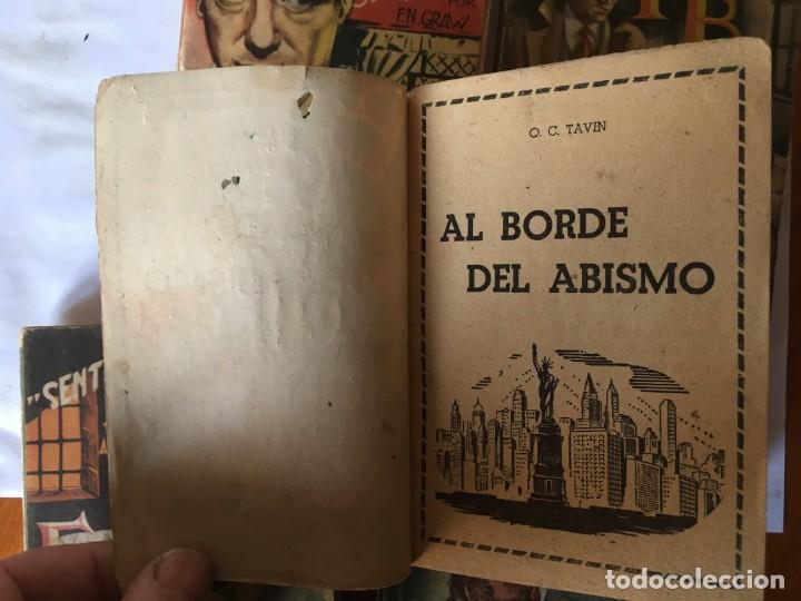 Libros antiguos: novela FBI policiaca nº 12- 79-88- 89- 165 viejas años 1950 lote 5 novelas - Foto 3 - 194863051