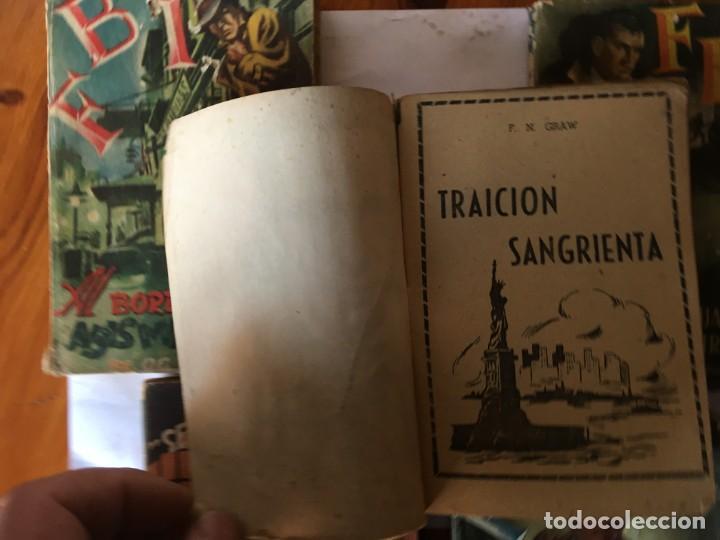 Libros antiguos: novela FBI policiaca nº 12- 79-88- 89- 165 viejas años 1950 lote 5 novelas - Foto 5 - 194863051