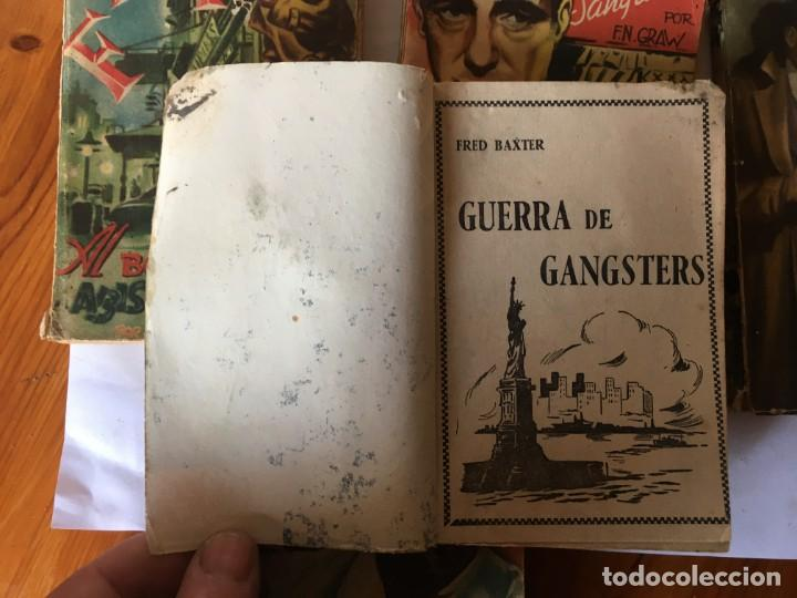 Libros antiguos: novela FBI policiaca nº 12- 79-88- 89- 165 viejas años 1950 lote 5 novelas - Foto 8 - 194863051