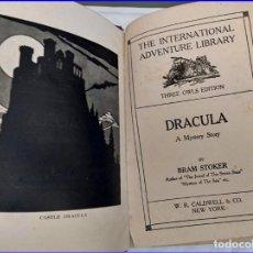 Libros antiguos: DRÁCULA, DE BRAM STOKER. COPYRIGHT DEL AÑO 1897.. Lote 195005028