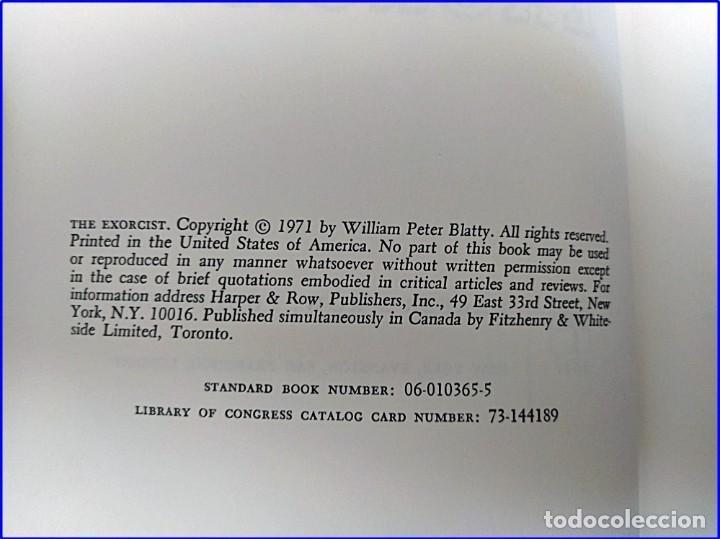 Libros antiguos: 1971: EL EXORCISTA. - Foto 3 - 195135833