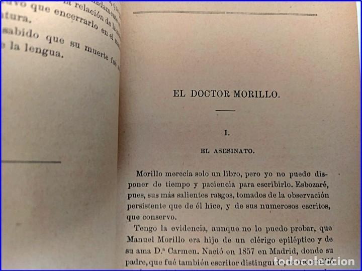 Libros antiguos: Año 1895: Locos y anómalos. Raro libro español sobre asesinatos. Siglo XIX. - Foto 5 - 195136127