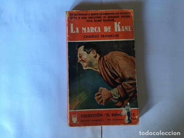 NOVELA POLICIACA COLECCION EL BUHO Nº 48 AÑO 1957 (Libros antiguos (hasta 1936), raros y curiosos - Literatura - Terror, Misterio y Policíaco)