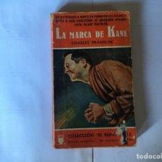 Libros antiguos: NOVELA POLICIACA COLECCION EL BUHO Nº 48 AÑO 1957. Lote 195375980