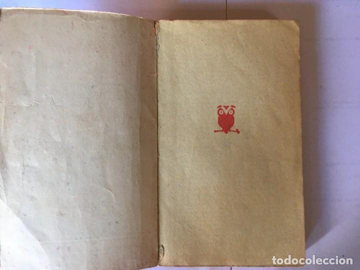 Libros antiguos: novela policiaca coleccion el buho nº 48 año 1957 - Foto 2 - 195375980