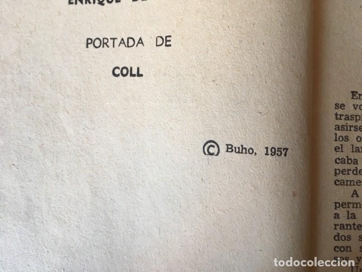 Libros antiguos: novela policiaca coleccion el buho nº 48 año 1957 - Foto 3 - 195375980