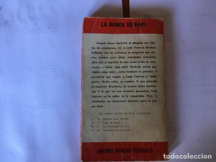 Libros antiguos: novela policiaca coleccion el buho nº 48 año 1957 - Foto 4 - 195375980