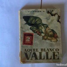 Libros antiguos: NOVELA POLICIACA COLECCION OASIS Nº 5 AÑO 1948 - 1ª EDICION. Lote 195376450