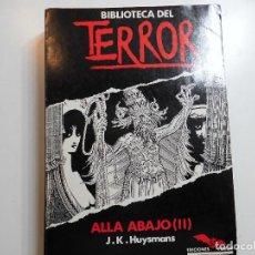 Livres anciens: BIBLIOTECA DEL TERROR Nº 53 FORUM. Lote 195586568