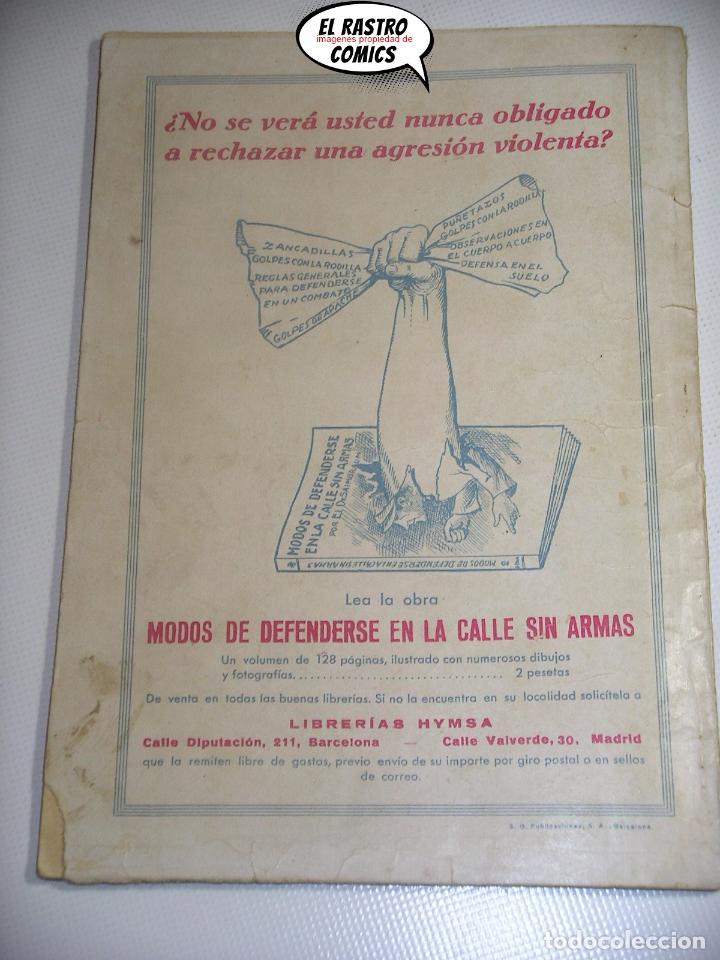 Libros antiguos: Sexton Blake nº 41, La furia de Mr Kilner, ed. Hymsa año 1934, Detectives y aventuras, pulp - Foto 2 - 197480256