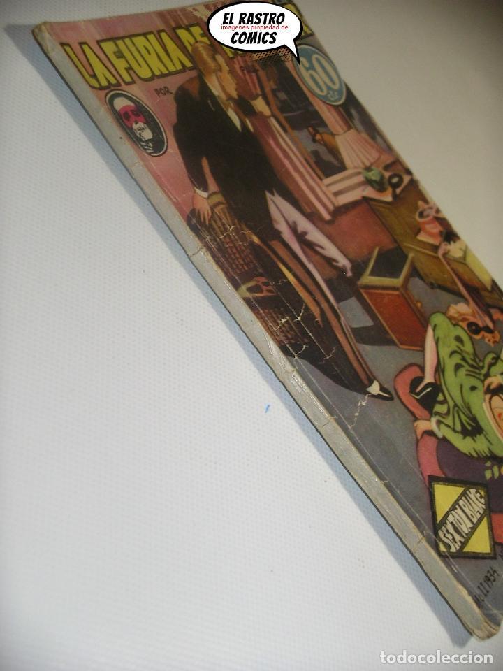 Libros antiguos: Sexton Blake nº 41, La furia de Mr Kilner, ed. Hymsa año 1934, Detectives y aventuras, pulp - Foto 3 - 197480256