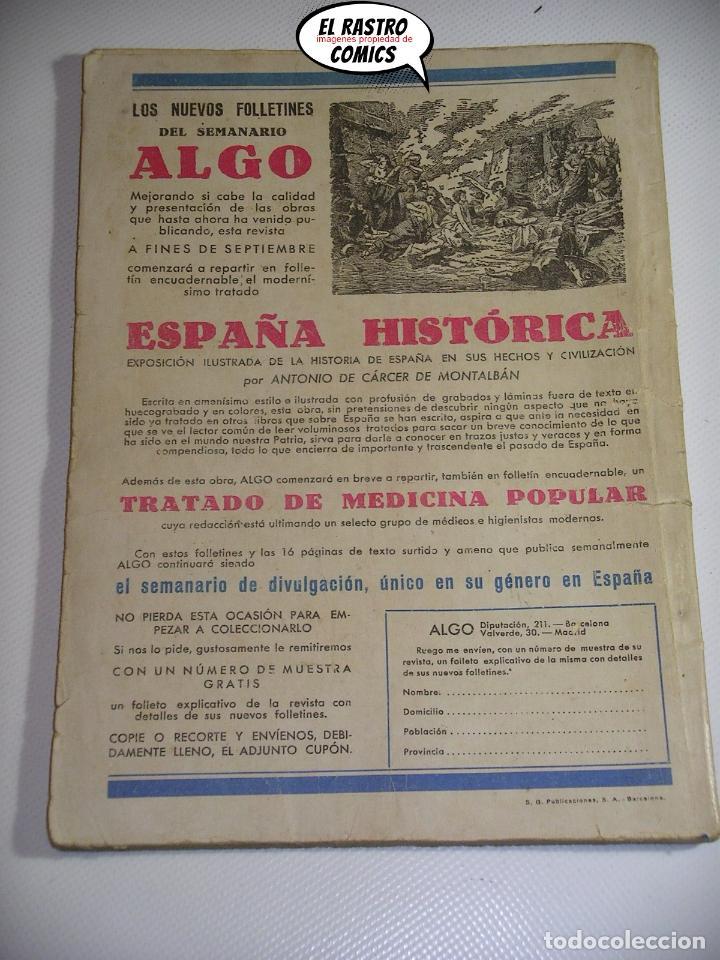 Libros antiguos: Sexton Blake nº 43, El diario del muerto, ed. Hymsa año 1934, Detectives y aventuras, pulp - Foto 2 - 197480667