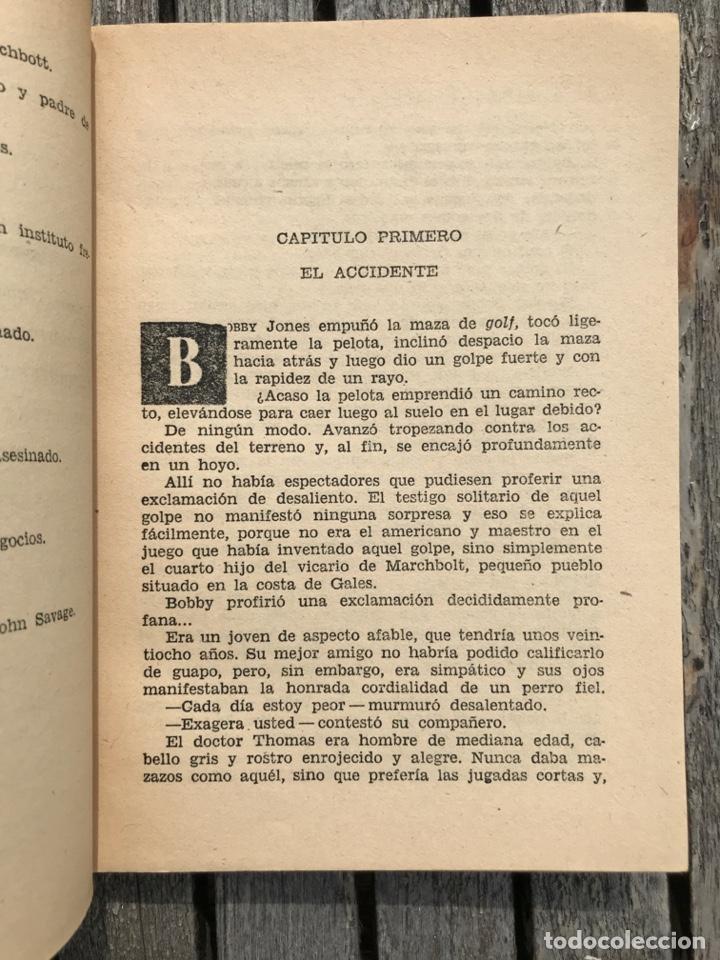 Libros antiguos: TRAYECTORIA DE BOOMERANG. AUT, AGATHA CHRISTIE. BIBLIOTECA ORO Nº 152, ED. MOLINO AÑO 1959, VER FOTO - Foto 2 - 197510490