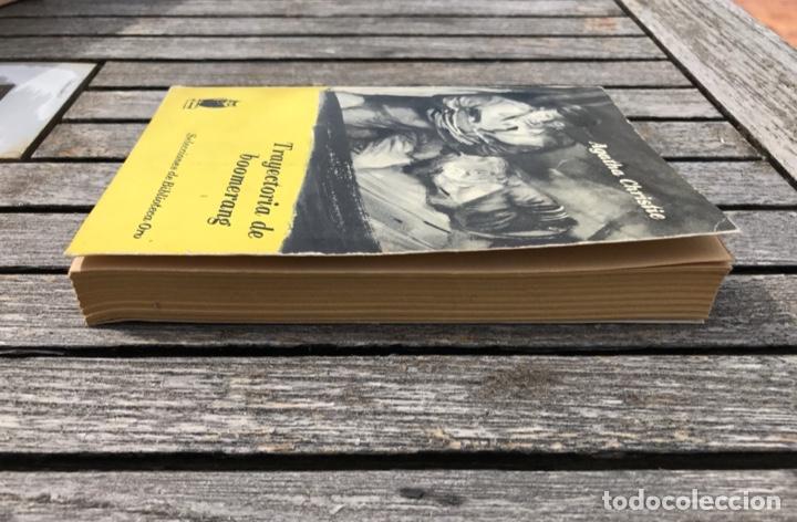 Libros antiguos: TRAYECTORIA DE BOOMERANG. AUT, AGATHA CHRISTIE. BIBLIOTECA ORO Nº 152, ED. MOLINO AÑO 1959, VER FOTO - Foto 5 - 197510490