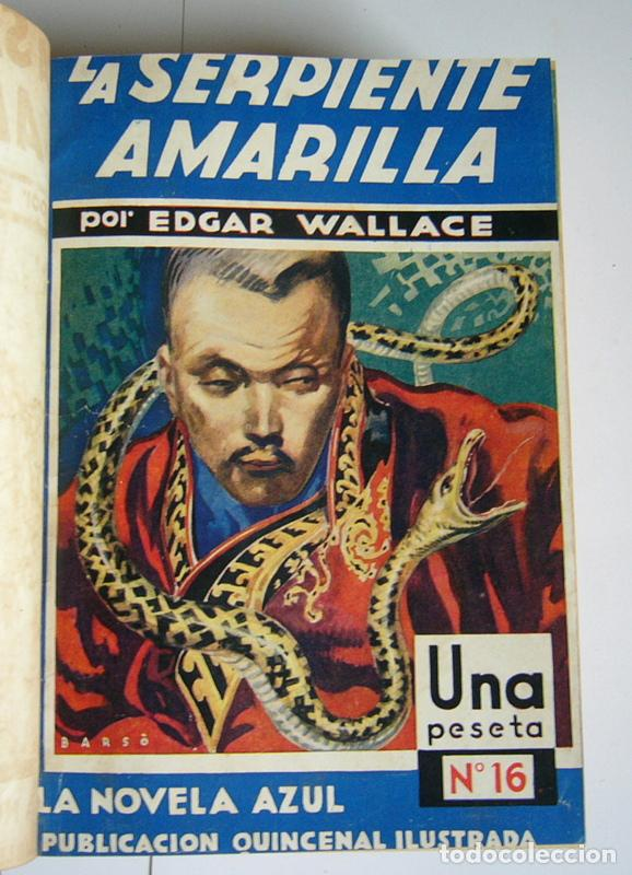 Libros antiguos: NUEVE NOVELAS POLICIACAS DE EDGAR WALLACE ENCUADERNADAS EN UN SOLO TOMO - AÑOS 30 Y 40 - Foto 2 - 197699258