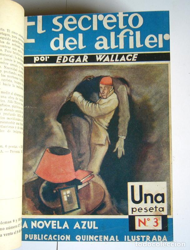 Libros antiguos: NUEVE NOVELAS POLICIACAS DE EDGAR WALLACE ENCUADERNADAS EN UN SOLO TOMO - AÑOS 30 Y 40 - Foto 3 - 197699258