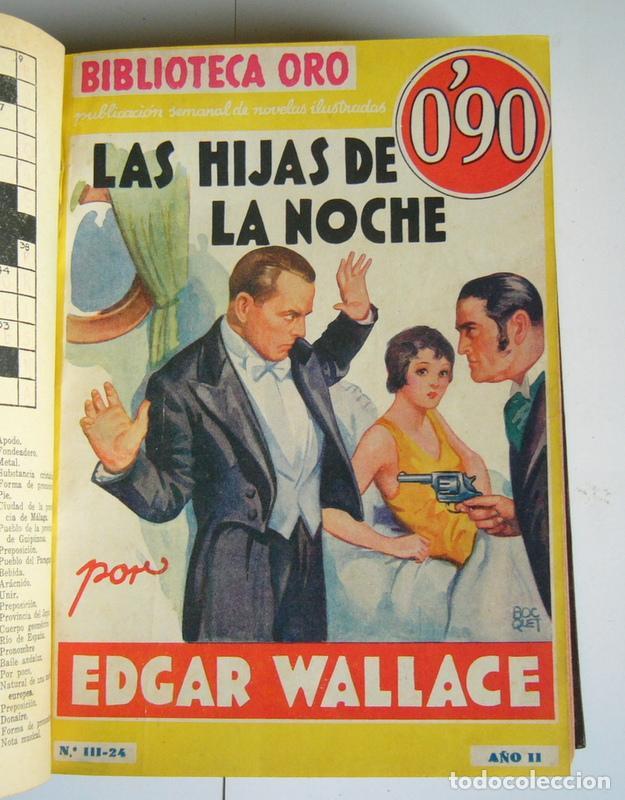 Libros antiguos: NUEVE NOVELAS POLICIACAS DE EDGAR WALLACE ENCUADERNADAS EN UN SOLO TOMO - AÑOS 30 Y 40 - Foto 4 - 197699258