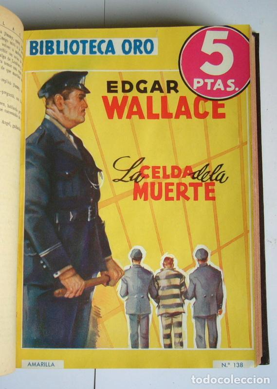Libros antiguos: NUEVE NOVELAS POLICIACAS DE EDGAR WALLACE ENCUADERNADAS EN UN SOLO TOMO - AÑOS 30 Y 40 - Foto 6 - 197699258