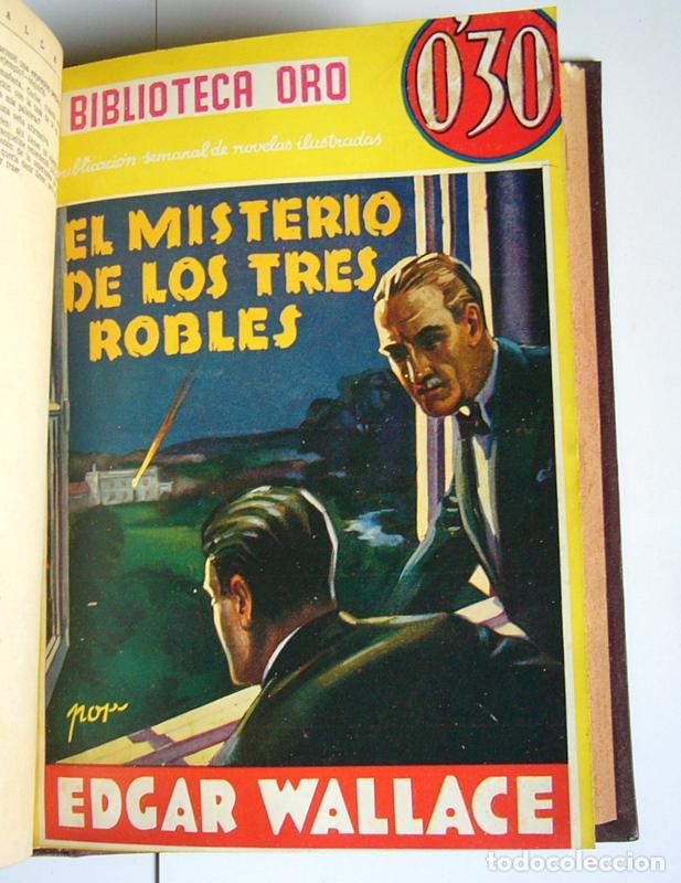 Libros antiguos: NUEVE NOVELAS POLICIACAS DE EDGAR WALLACE ENCUADERNADAS EN UN SOLO TOMO - AÑOS 30 Y 40 - Foto 9 - 197699258