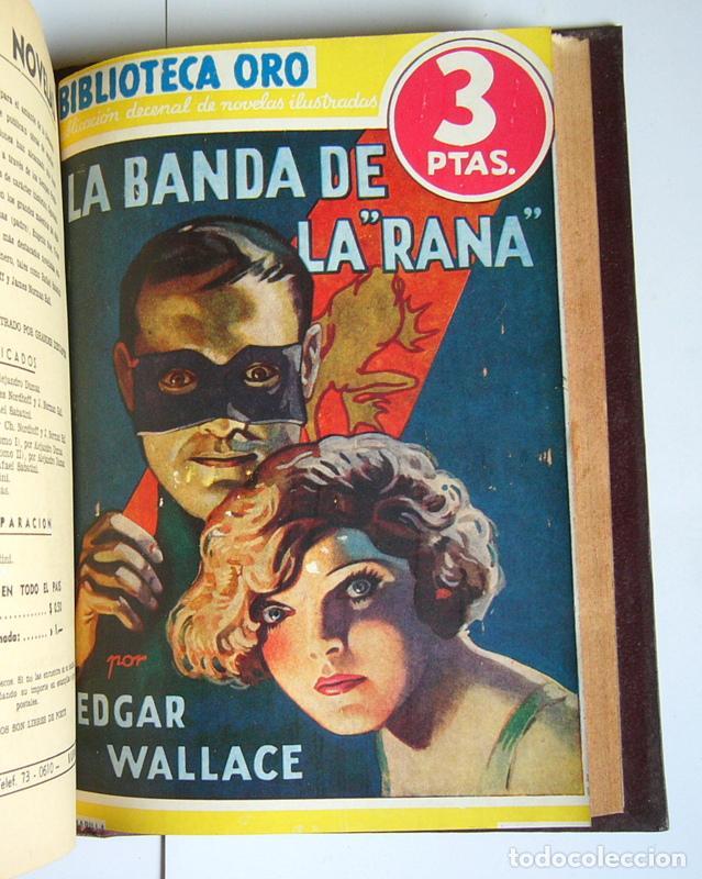 Libros antiguos: NUEVE NOVELAS POLICIACAS DE EDGAR WALLACE ENCUADERNADAS EN UN SOLO TOMO - AÑOS 30 Y 40 - Foto 10 - 197699258