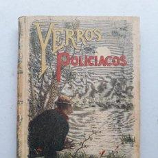 Libros antiguos: YERROS POLICIACOS, BIBLIOTECA CALLEJA XXVI, WILLIAM BUSNACH. Lote 197951612