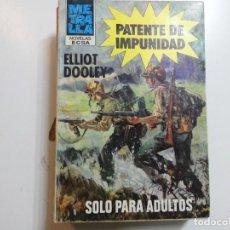 Libros antiguos: METRALLA Nº 101 ECSA. Lote 198764450