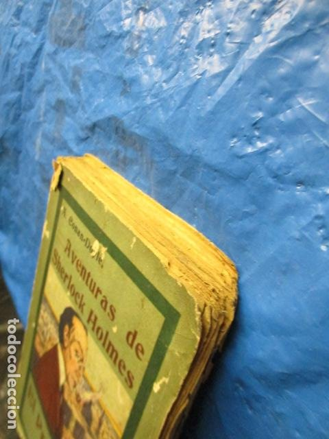 Libros antiguos: aventuras de sherlock holmes el problema final 1907 - Foto 3 - 220632763