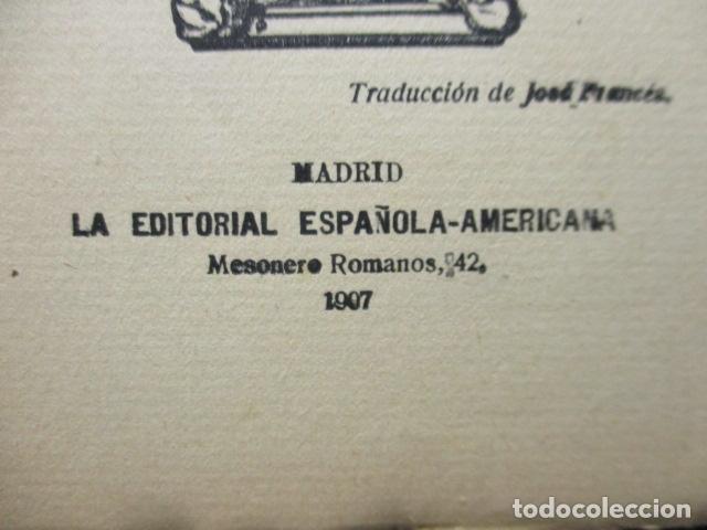 Libros antiguos: aventuras de sherlock holmes el problema final 1907 - Foto 7 - 220632763