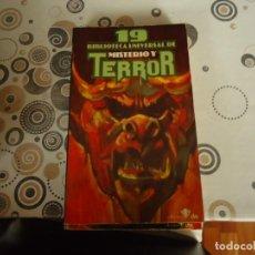 Libros antiguos: BIBLIOTECA DE MISTERIO Y TERROR Nº 19. Lote 203973020