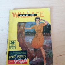 Libros antiguos: GARY WELLS. LA VENGANZA DEL AGENTE SECRETO. SERIE WALLACE. Lote 204501001