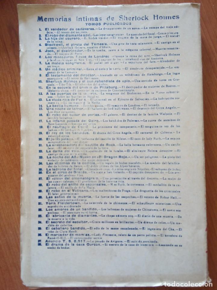 Libros antiguos: AVENTURAS DE JOHN C. RAFFLES / EL INCOGNITO MISTERIOSO - Foto 3 - 204522018