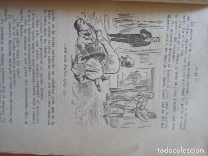 Libros antiguos: AVENTURAS DE JOHN C. RAFFLES / EL INCOGNITO MISTERIOSO - Foto 5 - 204522018