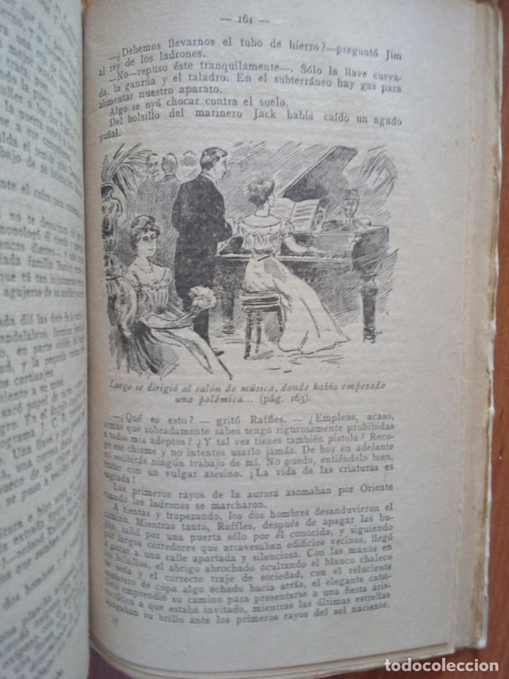 Libros antiguos: AVENTURAS DE JOHN C. RAFFLES / EL INCOGNITO MISTERIOSO - Foto 7 - 204522018
